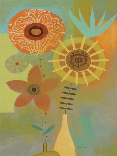Todays Bouquet 2-Richard Faust-Premium Giclee Print