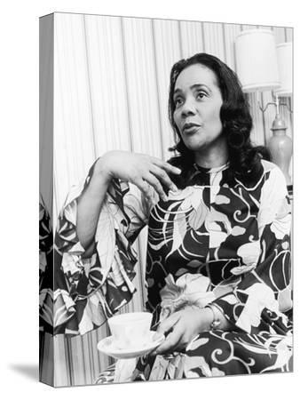 Civil Rights Leader Coretta Scott King, Montgomery Bus Boycott Anniversary Event, 1975