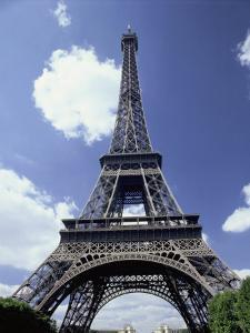 A Scenic View of the Eiffel Tower on a Sunny Day by Todd Gipstein