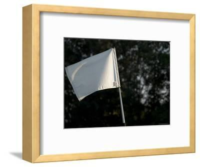 Close View of a Flag on a Golf Course, Groton, Connecticut