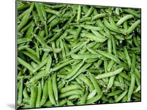Green Beans at an Outdoor Market in New York City by Todd Gipstein