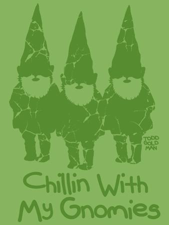 Chillin With My Gnomies by Todd Goldman