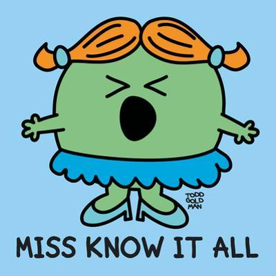 Miss Know It All
