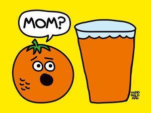 Mom OJ by Todd Goldman