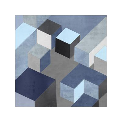 Cubic in Blue I