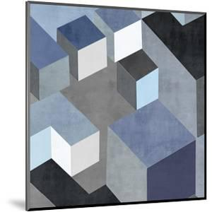 Cubic in Blue II by Todd Simmions