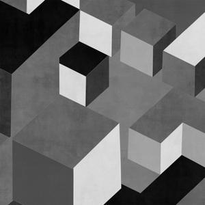 Cubic in Grey I by Todd Simmons