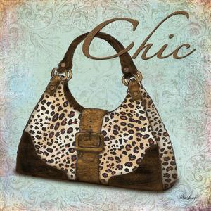 Blue Chic Purse by Todd Williams
