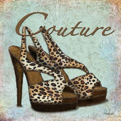 Blue Couture Shoes by Todd Williams