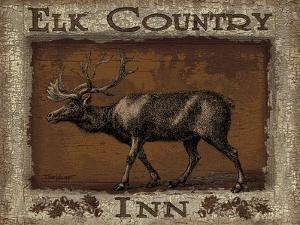 Elk Country - Mini by Todd Williams