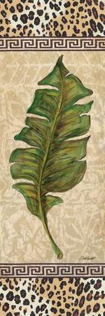 Leopard Palm Leaf I