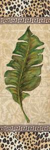 Leopard Palm Leaf I by Todd Williams
