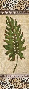 Leopard Palm Leaf II by Todd Williams