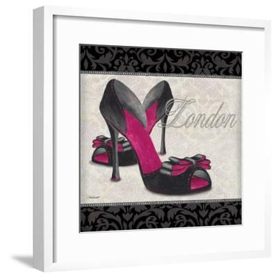 Pink Shoes Square I by Todd Williams