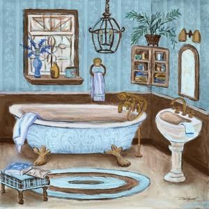 Tranquil Bath I by Todd Williams