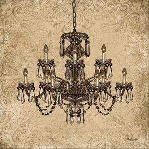 Vintage Chandelier I by Todd Williams