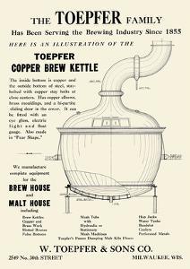 Toepfer Copper Brew Kettle