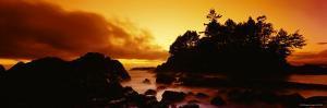 Tofino at Sunset, Vancouver Island, British Columbia, Canada