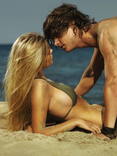 Together on the Beach No.1-Alex Maxim-Photographic Print
