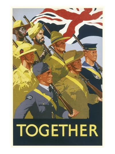 Together Poster--Giclee Print