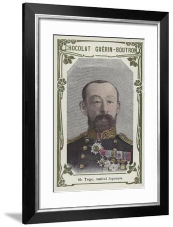 Togo, Amiral Japonais--Framed Giclee Print