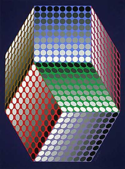 Togonne-Victor Vasarely-Limited Edition