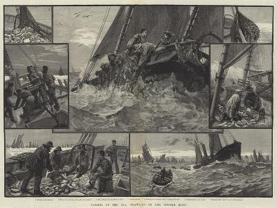 Toilers of the Sea, Trawling on the Dogger Bank--Giclee Print