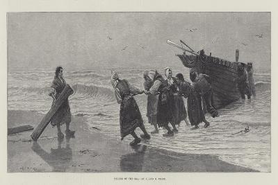 Toilers of the Sea-Julius Mandes Price-Giclee Print