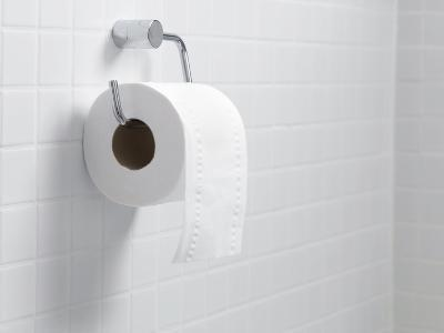 Toilet Paper Holder And Roll-Tek Image-Photographic Print