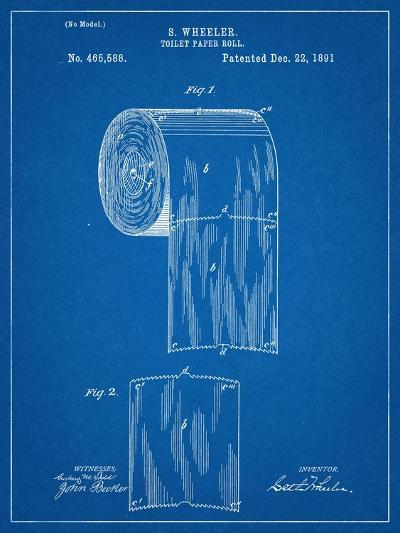 Toilet Paper Patent--Art Print