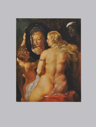 Toilette of Venus-Peter Paul Rubens-Collectable Print