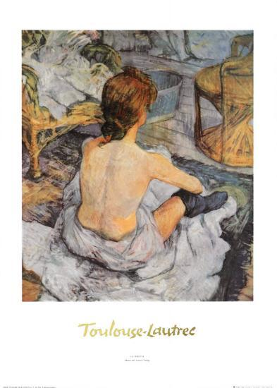 Toilette-Henri de Toulouse-Lautrec-Art Print