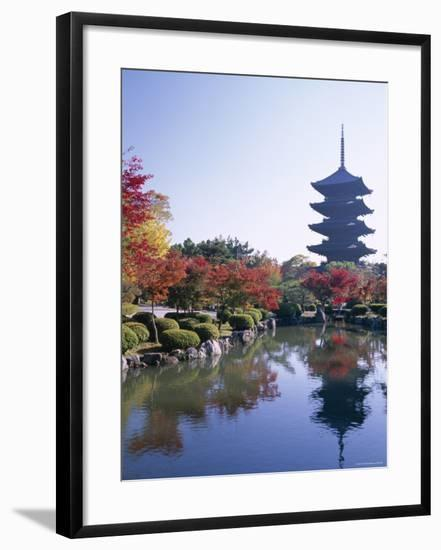 Toji Temple, Kyoto, Japan-Steve Vidler-Framed Photographic Print