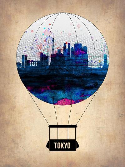 Tokyo Air Balloon-NaxArt-Art Print