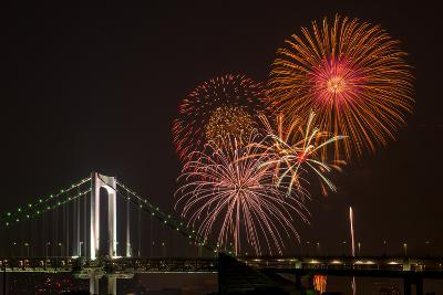 Tokyo Bay Grand Fireworks Festival 2013-I love Photo and Apple.-Photographic Print