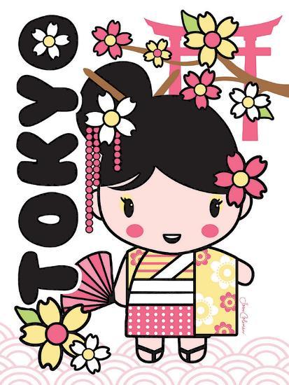 Tokyo Cutie-Joan Coleman-Art Print