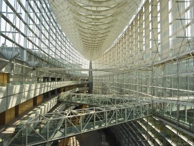 Tokyo International Forum Building, Marunouchi, Tokyo, Japan-Christian Kober-Photographic Print