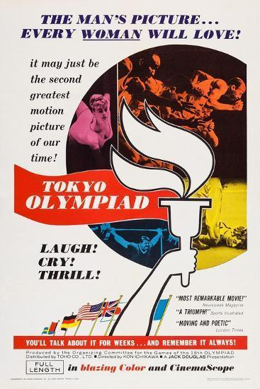 Tokyo Olympiad, (Aka Tokyo Orinpikku), 1965--Art Print