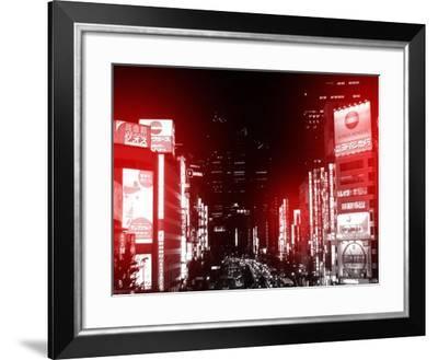 Tokyo Street-NaxArt-Framed Art Print