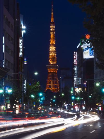 Tokyo Tower, Roppong, Tokyo, Japan-Rob Tilley-Photographic Print