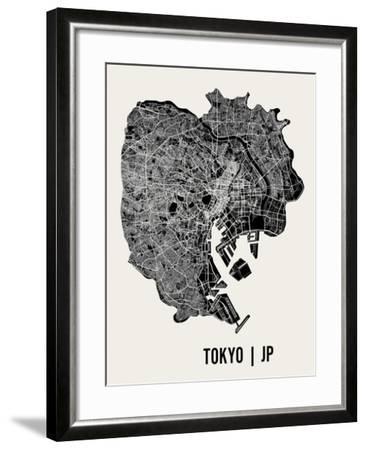Tokyo-Mr City Printing-Framed Art Print