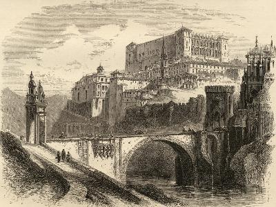 Toledo, Spain, Illustration from 'spanish Pictures' by the Rev. Samuel Manning--Giclee Print