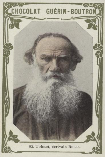 Tolstoi, Ecrivain Russe--Giclee Print