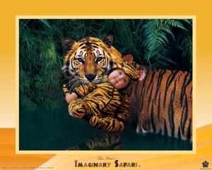 Imaginary Safari, Tiger by Tom Arma