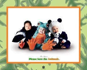 Please Save the Animals I by Tom Arma