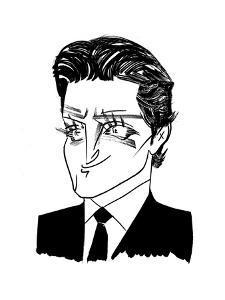 Bradley Cooper - Cartoon by Tom Bachtell