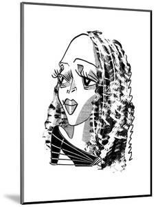 Cassandra Wilson - Cartoon by Tom Bachtell