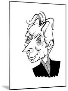 Charlie Watts - New Yorker Cartoon by Tom Bachtell