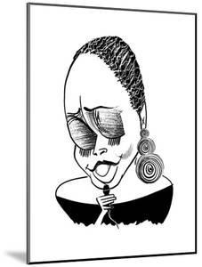Dianne Reeves  - Cartoon by Tom Bachtell