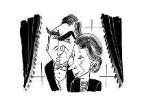 Bonnie Raitt - Cartoon-Tom Bachtell-Premium Giclee Print